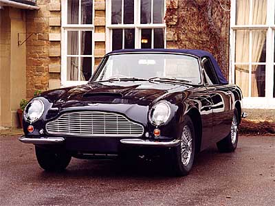 Aston Martin DB6 Convertible