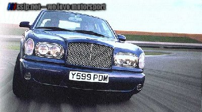 Bentley Arnage Front