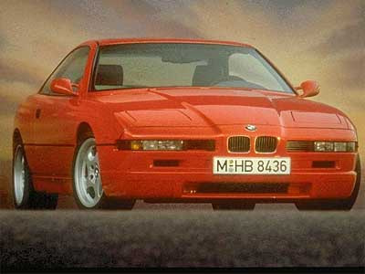 1989 Bmw 8 Series. Bmw 850 Csi E31 Pictures,