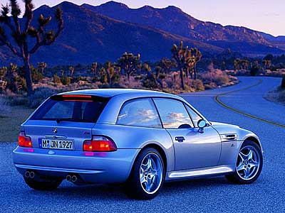 BMW M Coupe Back