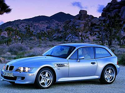 BMW M Coupe Side