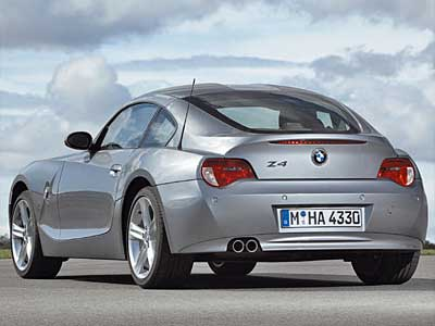 BMW Z4 M Coupe Back
