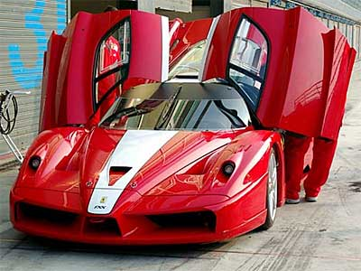 Ferrari FXX Super Exotic Sports Cars
