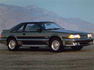 Ford Mustang GT 1987 Front