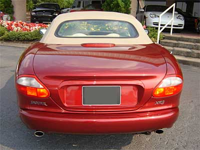 Jaguar XK8 Back