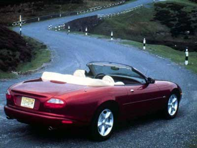 Jaguar XK8 Convertible Side, Jaguar XK8 Convertible Back