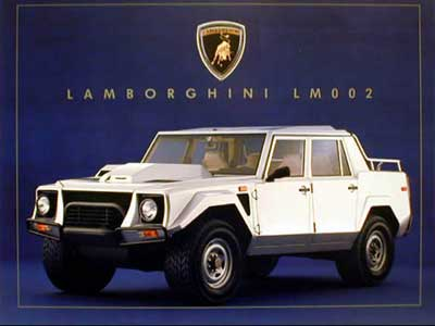 Lamborghini on Lamborghini Lm002 Pictures  Photos  Information  Prices