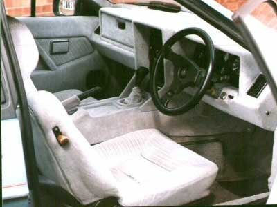 Lotus Excel Interior