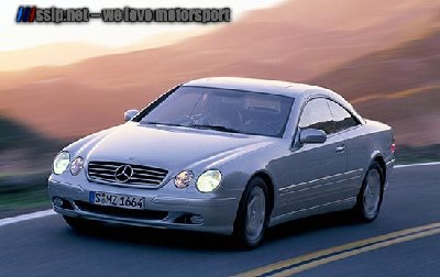 Mercedes Benz CL 600 Driving