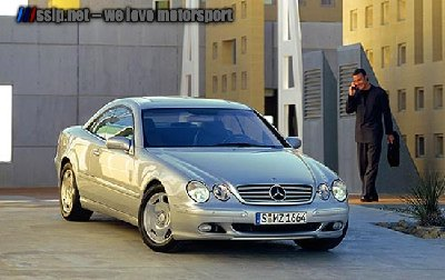Mercedes Benz CL 600 Front