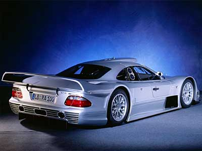 Mercedes Benz CLK GTR Back