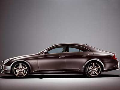 Mercedes Benz CLS 55 AMG Side