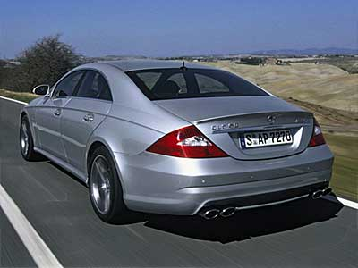 Mercedes Benz CLS 63 AMG Back