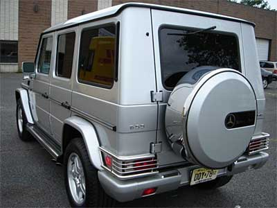 Mercedes Benz G55 AMG Back