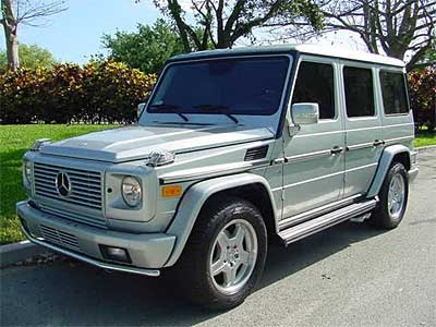 Mercedes Benz G55 AMG Side