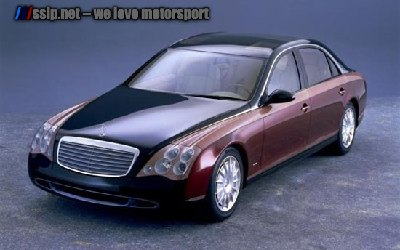 Mercedes Benz Maybach Front