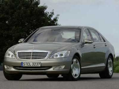 Mercedes Benz S 600 Guard Front