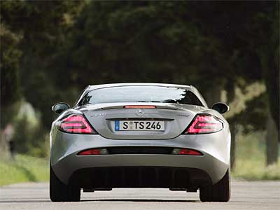 Mercedes Benz SLR 722 Edition Back