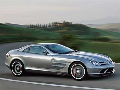 Mercedes Benz SLR 722 Edition Side