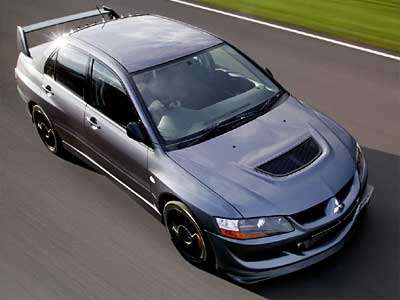 Mitsubishi Lancer Evolution VIII MR FQ 400 Top