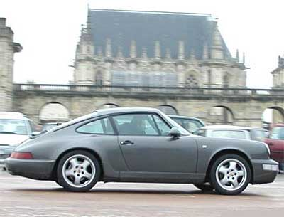 Porsche 911 Carrera 964 Side