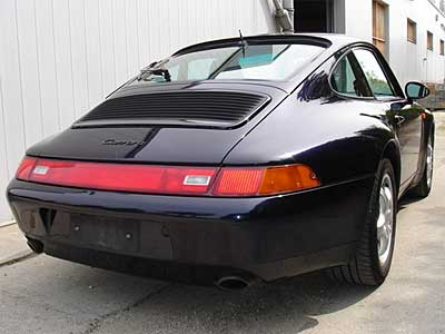 Porsche 911 Carrera 993 Back