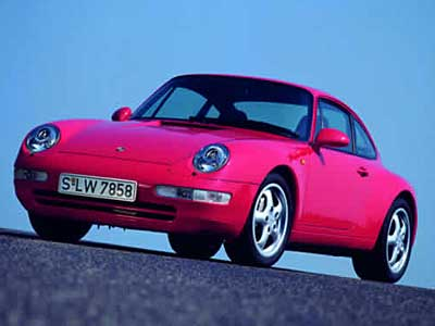 Porsche 911 Carrera 993 Side