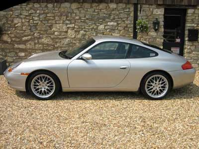 Porsche 911 Carrera 996 Side