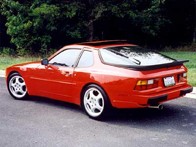 Porsche 944 Turbo Back