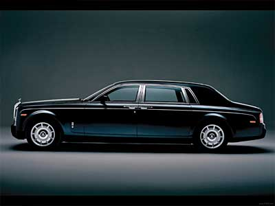 Rolls Royce Phantom Side